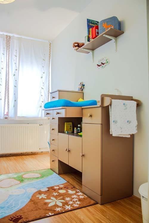 Gordijnen babykamer taupe brocante babykamer landelijke bruine gordijnen curtains - Kinderkamer taupe ...