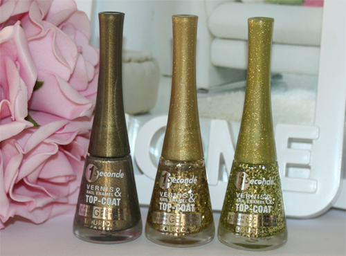 Bourjois Gold is Back top-coats 2