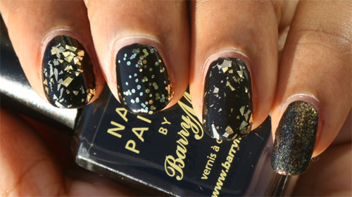 Bourjois Gold is Back top-coats zwart