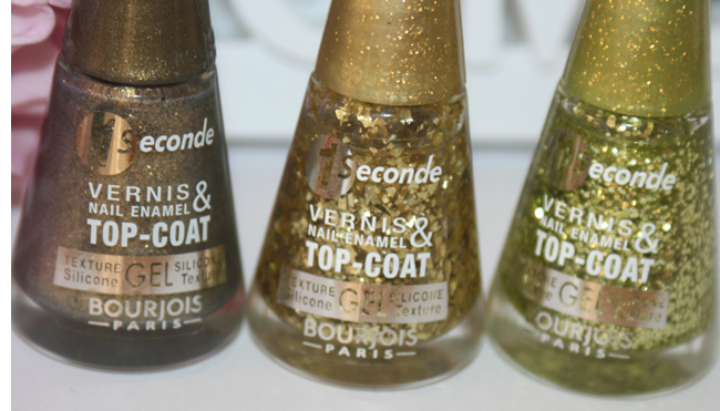Bourjois Gold is Back top-coats