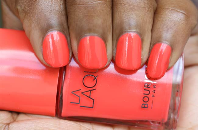 Bourjois La Laque 3 Orange Outrant 2