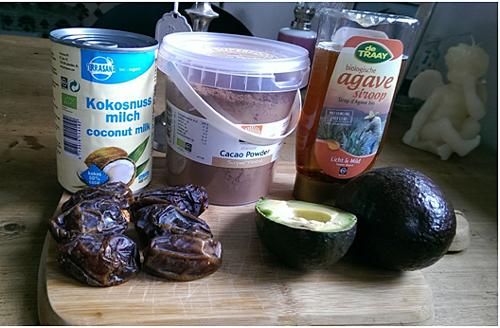 Healthy chocolademousse