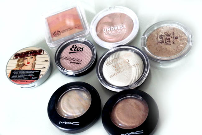 Highlighters budget en high end 2
