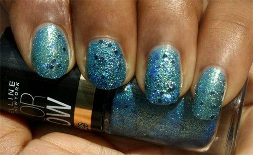 Maybelline Color Show Brocades Beaming Blue