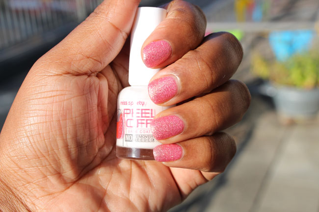 Miss Sporty Peel Off Base Coat 5