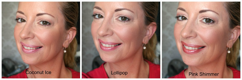 PicMonkey Collage eerste rij W7 lipstick full face