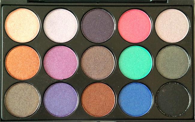 Vivien Kondor eyeshadow palette (koel) 2