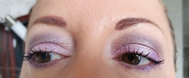 Vivien Kondor eyeshadow palette look 1