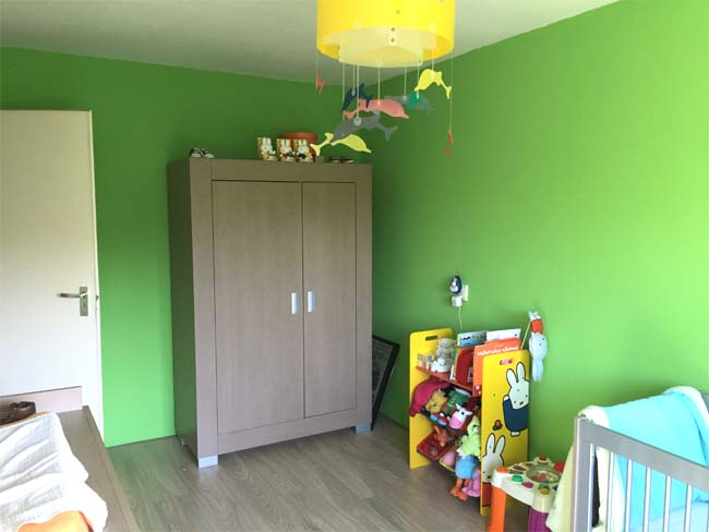 Gordijn Babykamer Babykamers : Binnenkijken babykamers babykamer amber mommyonline