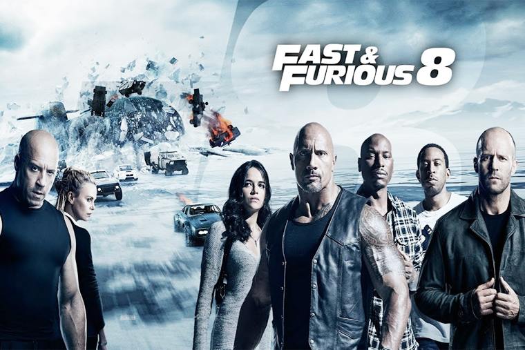 movie sunday fast and furious 8. Black Bedroom Furniture Sets. Home Design Ideas