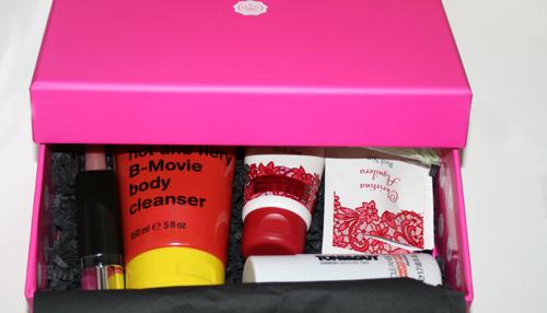 glossybox valentijn editie