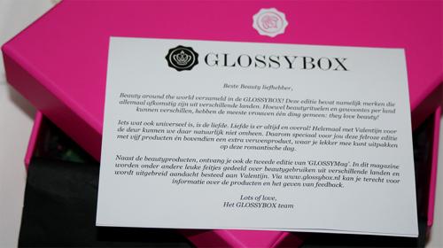 glossybox valentijn