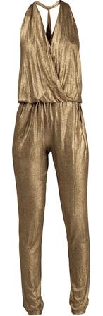 gouden jumpsuit