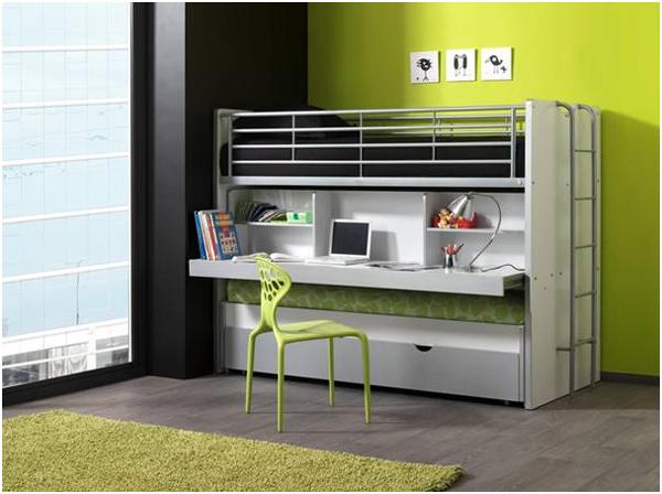 Inspiratie voor kleine kinderkamers - Stapelbed kleine kamer ...