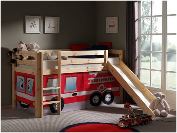 inspiratie voor kleine kinderkamers. Black Bedroom Furniture Sets. Home Design Ideas