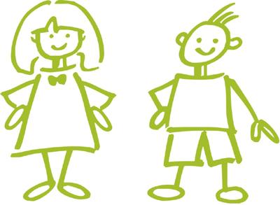 Opvoeden meisjes versus jongens - Set van jongens en meisjes ...