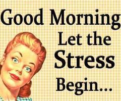ochtendstress
