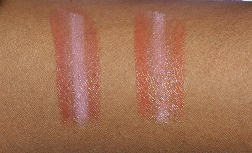 oriflame lipsticks swatches