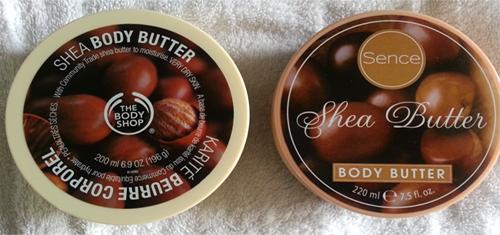 shea butter vergelijking