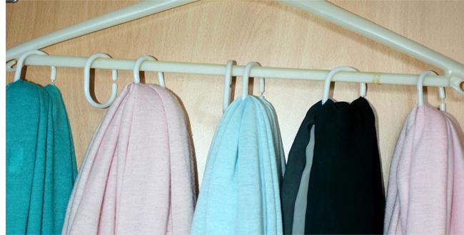 sjaals hanger