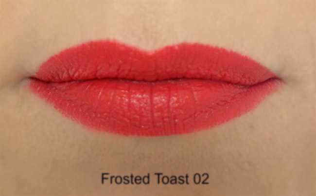 vivien kondor lipstick 02 frosted toasted