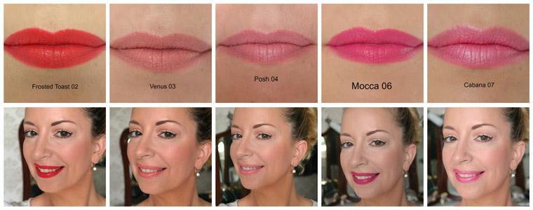 vivien kondor lipsticks swatches 2